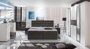 Schlafzimmer Komplett Schwebet Enschrank Modernes Schlafzimmer Komplett Zweifarbig Mit Boxbett Belcastro