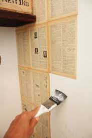 Wallpaper To Decorate Room Diy Book Pages And Sheet Music Wallpaper To Decorate Bedroom