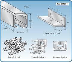 profili per porte accessori alluminio anodizzato al go alluminio