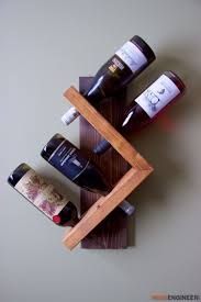 How To Make A Wine Rack In A Kitchen Cabinet by 13 Free Diy Wine Rack Plans You Can Build Today