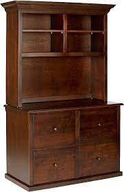 lateral file cabinet with hutch office furniture file cabinets wynwood furniture design