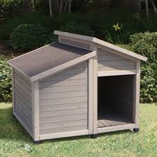 Petmate Indigo Lean To Style Doghouse Diy Loversiq