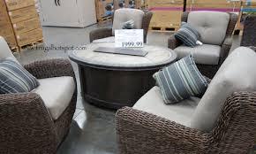 Costco Patio Chairs Costco Kirkland Signature Braeburn 5 Woven Firechat