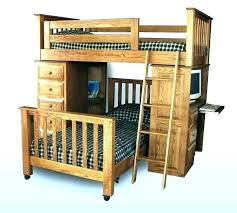 wooden loft bunk bed with desk bunk beds with two desks image of childrens loft bed with desk black