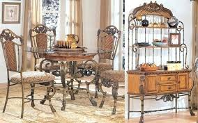 wrought iron dining room table wrought iron dining set sgmun club