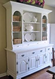 The Styling Hutch Dining Hutch Farmhouse Dining Room Pinterest Plate Racks