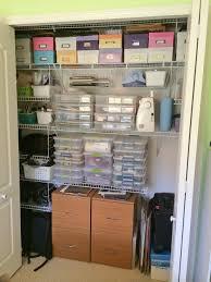 How To Design A Closet Organization Tour Of My Scrap Room 2014 Scrapbook Update