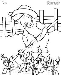 community helpers coloring page free download