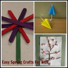 easy spring craft ideas for kids u2013 saving mamasita
