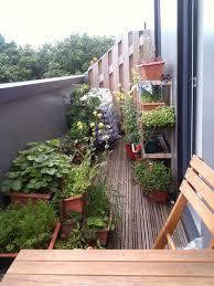 Beautiful Balcony Exterior Design Comfy Small Herb Garden Balcony With Wooden Patio