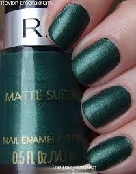 revlon 933 matte emerald city polish own it pinterest