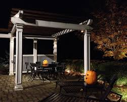 pergola design magnificent malibu low voltage outdoor lighting