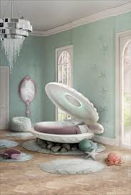 1047 best kid room decor ideas images on pinterest children inspired in the disney movie little mermaid little mermaid bed was designed by circu and it s a shell shaped bed shells are meant to protect little