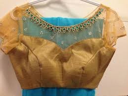 net blouse pattern 2015 net blouse designs latest blouse designs with net back net sleeves
