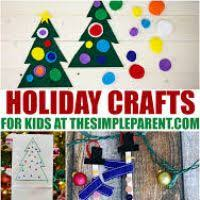 Holiday Crafts For Preschoolers - easy to make holiday crafts wordblab co