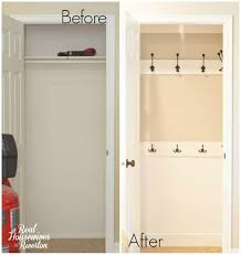 coat closet makeover a tutorial housewives of riverton