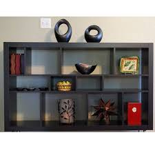Expedit Bookshelves by Amazon Com Ikea Expedit Bookcase Tv Stand Multi Use Black Brown
