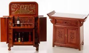 Asian Bar Cabinet Far Eastern Furnishings 远东家具 Solidwood