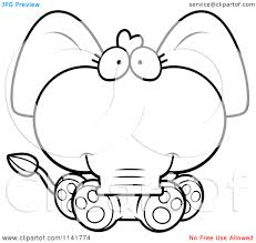 baby jungle animals coloring page