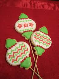 ornament cookies sweet discoveries