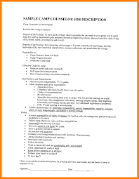 Sample Counselor Resume 7 Camp Counselor Resume Mla Cover Page