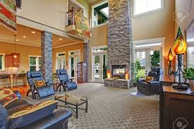 luxury open floor plans luxury house open floor plan spacious living room with high