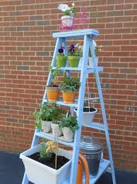 diy herb garden diy herb garden ladder feature post a purdy little house