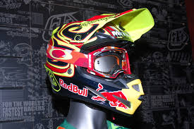 custom motocross helmet painting dirt bike magazine troylee designs 2016 se4 helmet launch