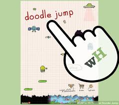 doodle jump how to be at doodle jump 7 steps with pictures wikihow