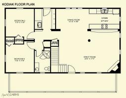 log cabin floor plans with loft kodiak loft spirit cabins modular log homes