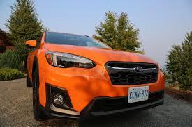 orange subaru crosstrek 2018 subaru crosstrek review autoguide com news
