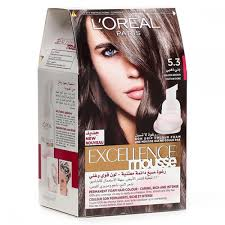 oreal excellence mousse 530 golden brown