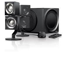 best home theater system wireless speakers amazon com creative ziisound t6 2 1 wireless speaker system home