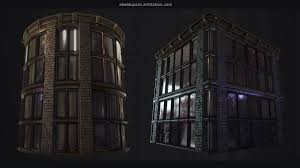 designer windows artstation procedural industrial windows substance designer