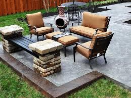 Outdoor Concrete Patio Designs Outdoor Concrete Patio Designs Ideas Three Dimensions Lab