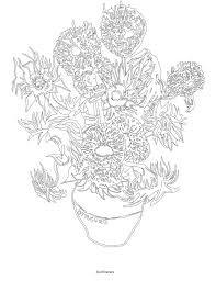 color your own van gogh van gogh museum amsterdam 9780062436429