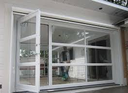 Garage Door Conversion To Patio Door Attractive Glass Garage Doors With Commercial D D Overhead Door