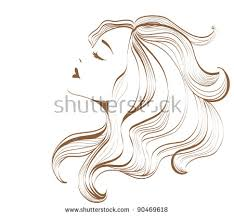 woman face outline stock images royalty free images u0026 vectors