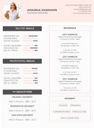 Word For Mac Resume Template Resume Cv Template Cover Letter For Ms Word Creative Resume