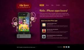 application home page design home design