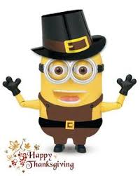 so glad you re here to celebrate thanksgiving minions