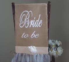 bridal shower chair cover bride chair wedding shower chair