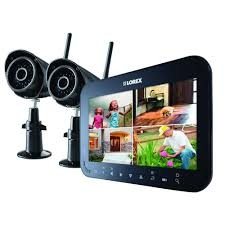 Interior Home Surveillance Cameras by Wireless Security Cameras Security Cameras The Home Depot