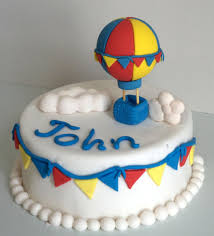 air cake topper hot air balloon fondant cake topper with 3d cloud and colorful