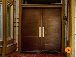 fiberglass double front doors entry with sidelites modern door
