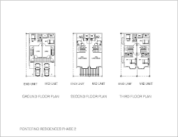 Shop House Plans by Pontefino Residences Where World Class Living Begins Todays