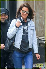 you may have missed katie holmes u0027 cute new haircut photo 3891004