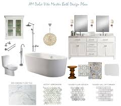 master bathroom designs am dolce vita master bath design plan