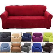 tissu housse canapé housse canapé fauteuil coussin revêtement couvre tissu élastique 1 4