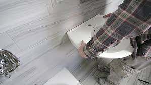 Pedestal Sink Height How To Install A Wall Mounted Pedestal Sink Home Repair Tutor